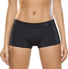 Women's Athletic Underwear - Haby Womens Sports Boyshort Athletic Underwear Quickdry Technology *** See this great product.