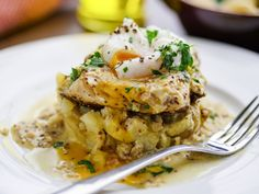 Sunday Brunch - Articles - Hake with Crushed Potatoes and Mustard Butter Sauce - All 4