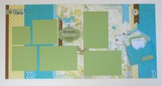The last layout includes more Marquee Enamel shapes as well as a nifty envelope for storing more of the smaller Picture My Life cards for jo...