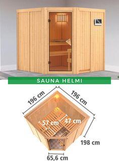 Sauna innen: Gönnen Sie sich etwas Entspannung. Am besten in den eigenen vier Wänden und in unserer Sauna Helmi von Karibu, die Ihnen und Ihren Liebsten, dank der beiden Saunabänken aus Espenholz ausreichend Platz für einen erholsames Saunavergnügen bietet. Erfahren Sie mehr! #Sauna #Saunazuhause #Saunavergnügen Sauna, Helmet, Inspiration, Detached House, Ad Home, Deco, Nice Asses, Biblical Inspiration, Hockey Helmet