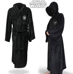Star Wars Darth Vader Imperial Bathrobe @oliviagoodale  Our next bday presents!