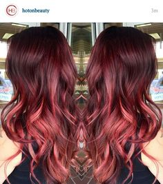 Coppery red ombre                                                       …
