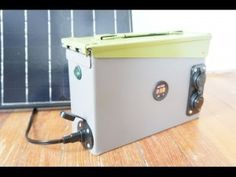How to build a 420 w portable solar generator