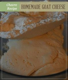 How To Make Goat Cheese | Easy, healthy and delicious recipe for all time! Now you will never buy again! #pioneersettler | http://pioneersettler.com