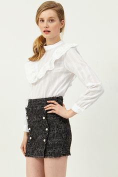 Bottoms - Clothing Discover the latest fashion trends online at storets.com  Embroidered Blouse bbba256118