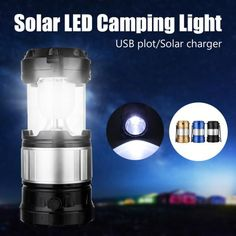 Usb Rechargeable Solar Led Flashlight Outdoor Camping Light Lantern Torch Lamp Pathway K5 China 3w Contemporary Blue Gold Black 2-3 Lights Abs Sensor 1 X