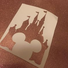 Deck Out Your Devices and Accessories With This Rose Gold Castle Decal