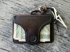 Vviper Magnetic Money Clip Wallet-Vvego http://www.vvego.com/product/vviper-wallet/  #magneticmoneyclip #coolwallets #customleather #leather #edc #giftsforhim  Find Us On Instagram @vvegogear