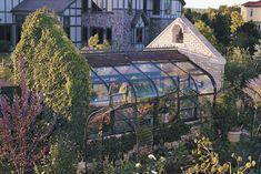 greenhouse between brick or stone walls . cultivator elite ...