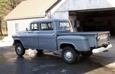 1957 Chevrolet, NAPCO 4x4, 3dr CrewCab! 265 4bbl V8/4speed manual/4.11 Diffs