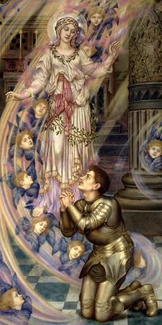 Our Lady of Peace, 1907 Evelyn De Morgan