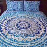 Mother Ocean Tapestry Bedding - The Fox and The Mermaid - 1