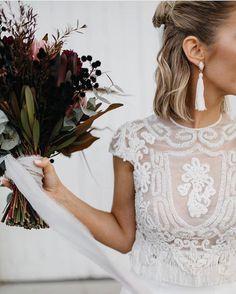 """Miss Cavallier en Instagram: """"Idealidades que encuentro en mis noches de insomnio embarazil! Me encanta todo!!! Foto: @sbcreativeco_ #boda #wedding #weddinggown…"""""""