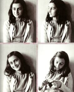 Anne Frank- a beautiful angel that I will always admire for what she did and what she believed in!
