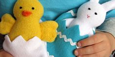 Chick + Bunny Softie Free Pattern + Tutorial