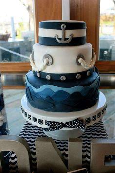 Ahoy, Birthday Boy! Paul is One!  | CatchMyParty.com