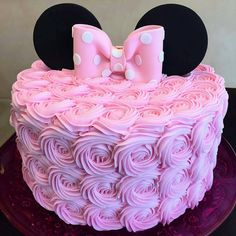 New birthday cake fondant ideas minnie mouse 22 Ideas Minni Mouse Cake, Bolo Da Minnie Mouse, Pink Minnie, Minnie Mouse Cake Topper, Minnie Mouse Birthday Decorations, Minnie Mouse Theme Party, Minnie Mouse First Birthday, Minie Mouse Party, Minnie Mouse Favors