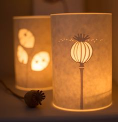 Hannah Nunn: Poppy seed head candle cover