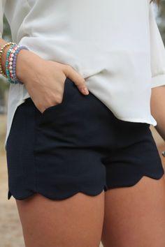 Wave Me Down Shorts: Navy, $36.99, shopofftheracks.com