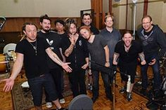 An On This Day 5 years ago #Shinedown photo #Amaryllis   Barry Kerch Brent Smith Eric Bass Shinedown Shinedown Nation Shinedowns Nation Zach Myers