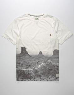 8d48ce86df HIPPYTREE Plateau Mens Pocket Tee - WHITE - 304610150