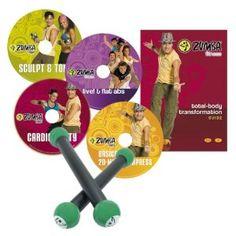 It's fun - die tanzähnlichen Schritte machen Spaߟ und man fühlt sich wohl.  It's different - die Musik, die Schritte, die Bewegungen sind anders als bei allen bisherigen Workouts.  It's effective - verbrennt Kalorien, formt die Muskulatur, bietet Herzkreislauftraining Fitness Set bestehend aus 4 DVDs. mit dem Zumba Fitness Programm sowie zwei Zumba Toning Sticks.