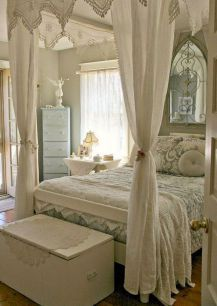 Stunning shabby chic bedroom decorating ideas