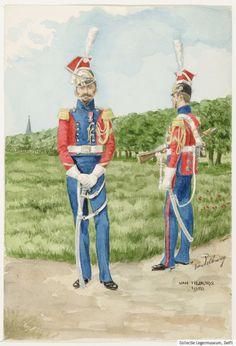 Lancier hollandais de la Garde Impériale, Premier Empire
