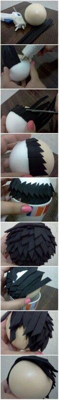 ¿como hacer cabello para fofuchas? Fofuchos Manualidades