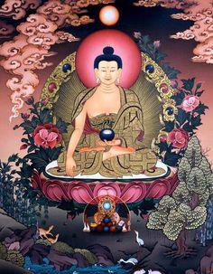 Just as a mother would protect her only child with her Life, even so let us cultivate a boundless Love towards all beings -Buddha Tibetan Art, Tibetan Buddhism, Angel Protector, Buddhist Wisdom, Buddhist Practices, Thangka Painting, Buddha Tattoos, Gautama Buddha, Buddha Art