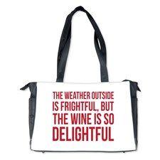 Wine is so Delightful Diaper Bag