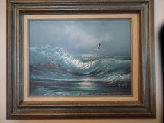 SEASCAPE Painting signed.  http://myworld.ebay.com/international-treasures