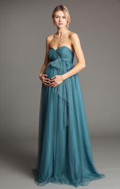 Serafina Maternity from our 2014 Collection...convertible tulle dress available at Carrie Karibo Boutique Cincinnati, Ohio www.carriekaribo.com