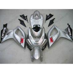 Suzuki GSX-R 600/750 2006-2007 K6 Injection ABS Fairing - Others - Silver   $679.00