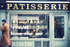 FRENCH PATISSERIE--stopped at one frequently during my time in France :P