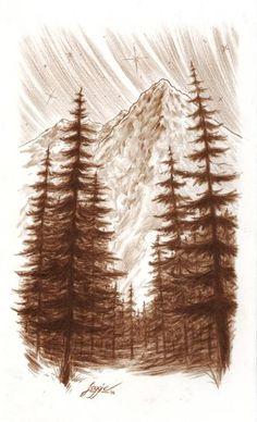 """Saatchi Art Artist Loggie Crumley; Drawing, """"The Great Spirit"""" #art"""