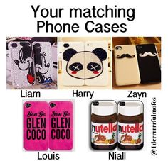 Nutella is the best thing invented... besides One Direction!!!!! But I love my matching panda ones <3