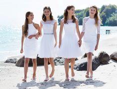 De nye 2016 konfirmationskjoler fra LILLY viser  smukke illusions-rygge med fine transperente  detaljer, trendy bodycon kjoler og klassiske kjoler  med vidde