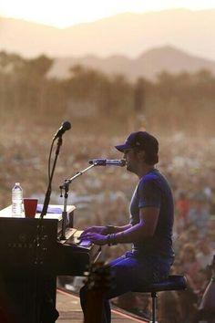 He plays good piano