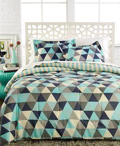 Jackson Triangles 3-Pc. Comforter Set