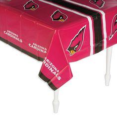 NFL® Arizona Cardinals Plastic Tablecloth