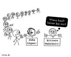 Lasst euch keinen Quark andrehen | #lügen #wahrheit #gesellschaft #islieb