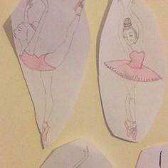 Ballerina #2 & #3