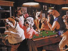 Comical Print Jack The Ripper By Arthur Sarnoff Dogs