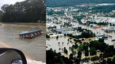 ¡Histórica! Inundación en Louisiana desenterró ataúdes de los panteones