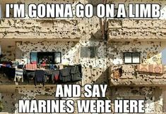 I'm going to say nope because Marines don't waste ammo.  One shot one kill devil dog.  This looks like the work of the army spray and pray