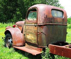HEAVY OLD CHEVY