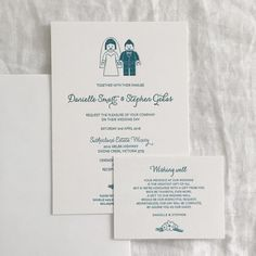 """(@tympanink) on Instagram: """"Do you want something customised, fun and cute? We can design your invitations to suit your wedding…"""""""