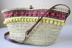 Straw Bag Made in Spain / Tote Straw Bag / Handcrafted / Mediterranean Style via Etsy