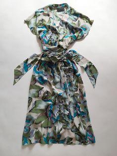 No. 6 Scarlett Wrap Dress - Gardenia
